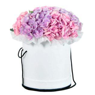 Цветы в коробке «Гармония»