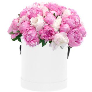 Цветы в коробке «Свет души»