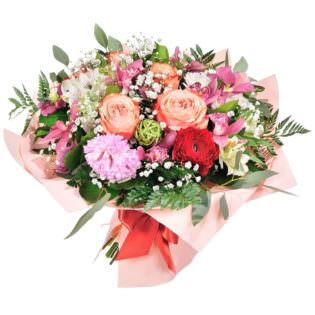 Букет «Океан цветов»