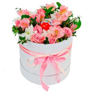 Цветы в коробке «Примавера»
